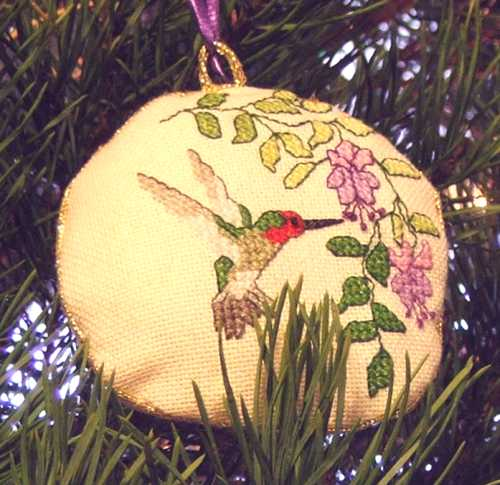 hummingbird 16055 christmas ornament from old world christmas