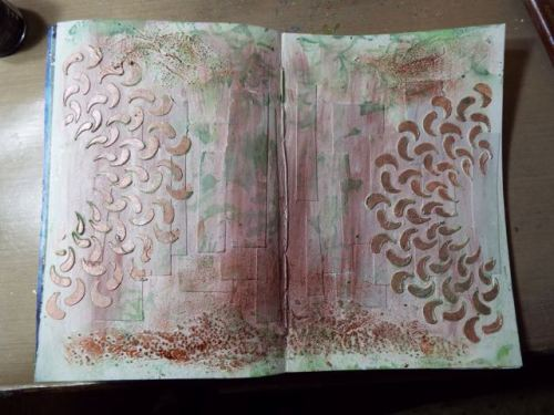Art journal page Jan 11 | the havens
